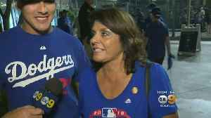 Dodgers Fans React To Game 4 Loss [Video]