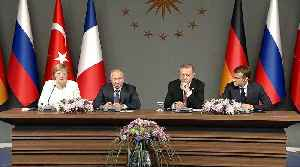 Leaders of Turkey, Syria, France and Germany hold Syria talks [Video]