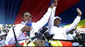 DR Congo election: First major pro-government rally [Video]