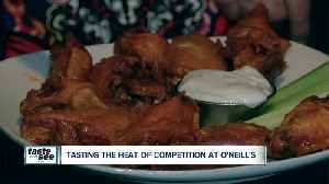 O'Neill's offers a spicy chicken wing challenge [Video]