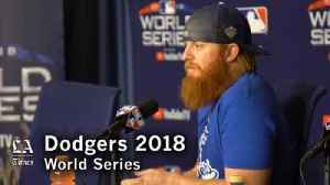 Justin Turner on how the Dodgers compare to the Red Sox and the team's confidence [Video]
