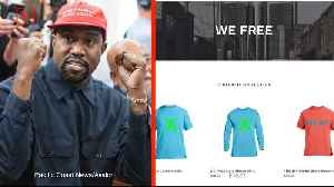 Kanye West's New 'Blexit' Clothing Line Encourages Black Democrats to Leave Party [Video]
