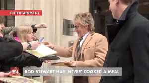Rod Stewart Never Cooked Anything [Video]