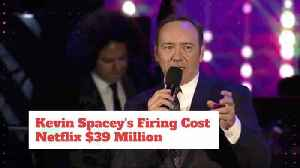 Netflix Loses Over 39 Million On Kevin Spacey [Video]