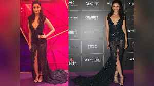 Alia Bhatt wears The RISKIEST Gown at Vogue Women of the Year Awards 2018 | FilmiBeat [Video]