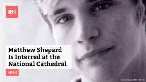 Matthew Shephard Is Now At The National Cathedral [Video]