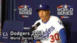 Dave Roberts on Clayton Kershaw and losing the World Series [Video]