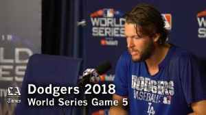 Clayton Kershaw on losing the World Series [Video]