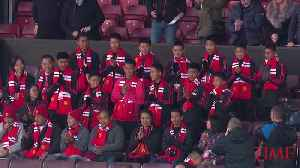 Boys Rescued From Thai Cave Attend a Manchester United Match [Video]