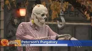 Halloween House Display: A Look Inside Peterson's Purgatory [Video]