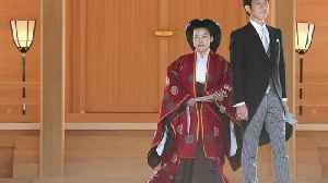 Japanese Princess steps down to marry [Video]