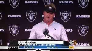 Gruden On Raiders Latest Loss: 'We Gotta Get Better In A Lot Of Areas' [Video]