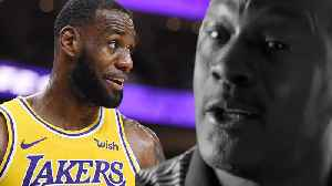 "LeBron James ""Ready"" To Take On Michael Jordan s Challenge After Sunday s  GOAT Commercial   a3bab7fd0"