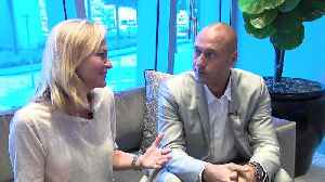 WEB EXTRA: Lisa Petrillo Talks One-on-One With Marlins CEO Derek Jeter [Video]