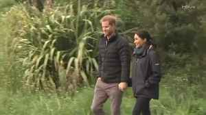Right Now: Prince Harry and Meghan Markle Visit National Park in New Zealand [Video]