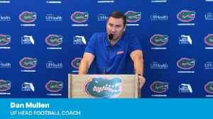 Dan Mullen on Feleipe Franks' Georgia game [Video]