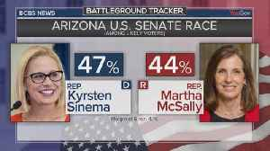 Democratic Senate candidate holds slight lead in tight race for historically GOP seat in Arizona [Video]