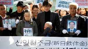 South Korean Court Orders Japanese Steel Companies To Compensate Forced Laborers [Video]