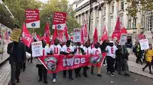 Uber Drivers March as Company Appeals Ruling on Workers' Rights [Video]