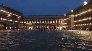 Venice resident films St. Mark's Square submerged in flood waters [Video]