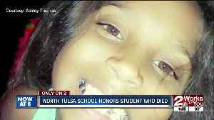 North Tulsa school remembers former student [Video]