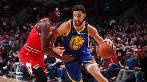 Warriors' Klay Thompson Sets NBA Record With 14 Three-Pointers in Rout of Bulls [Video]