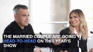 Robbie Williams And Wife Ayda Field Are X Factor Rivals [Video]