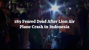 189 Lives Lost In Plane Crash Over Indonesia [Video]