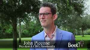 Simulmedia's Piccone Uses OTT To Grow Big Brands' Reach [Video]
