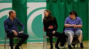 Prince William & Kate Middleton Step Out In Casual Wear At A Coach Core Event [Video]