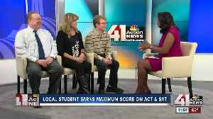 Local student earns perfect scores on ACT and SAT [Video]