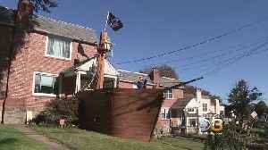 Family Transforms Their Drexel Hill Home Into A Pirate Ship [Video]