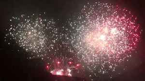 Incredible fireworks as Westfield shopping centre celebrates 10 year anniversary [Video]