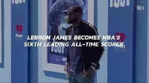 Lebron Is Now Number 6 [Video]
