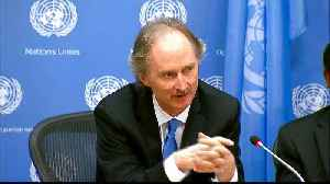 UN secretary-general to appoint Geir Peders as Syria envoy [Video]