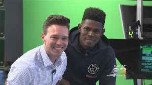 Philadelphia Union Goalie Andre Blake Stops By CBS3 Ahead Of MLS Playoff Game [Video]