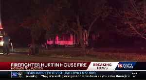 Firefighter injured fighting fire on McRaven Road [Video]