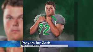 Community Rallying Behind Hill-Murray Football Player Who Suffered Head Injury [Video]