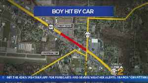 Boy, 6, Flown To Hospital After Being Struck By Vehicle On Route 51 [Video]