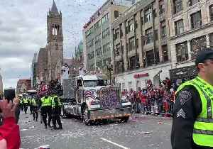 Fans Celebrate Boston Red Sox World Series Championship at Victory Parade [Video]