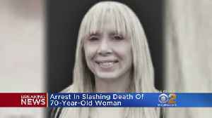 Arrest Made In Slashing Death Of 70-Year-Old UWS Woman [Video]