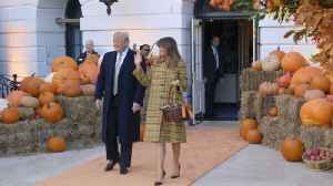 A Trump Halloween At The White House [Video]