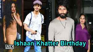 Ishaan-Janhvi spend time with Shahid-Mira [Video]