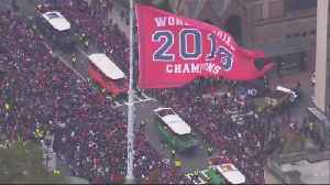 Boston parade celebrates Red Sox World Series win [Video]