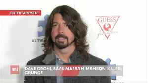 Dave Grohl Talks About What Wrecked Grunge Music [Video]