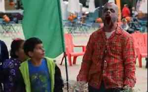 This zombie scarecrow prank is too much [Video]