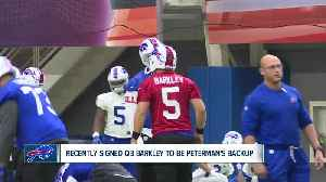Buffalo Bills sign QB Matt Barkley to serve as potential backup Sunday [Video]