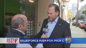 Mayor Breed, Salesforce CEO On Opposite Ends For Prop C [Video]