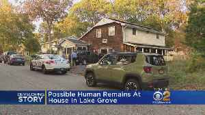 Skeletal Remains Discovered At Home On Long Island [Video]