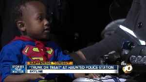 Trunk or Treat at Haunted Police Station [Video]